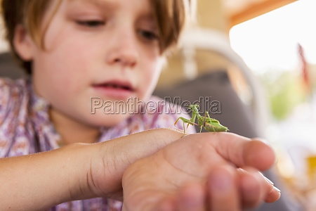 7 year old boy holding a