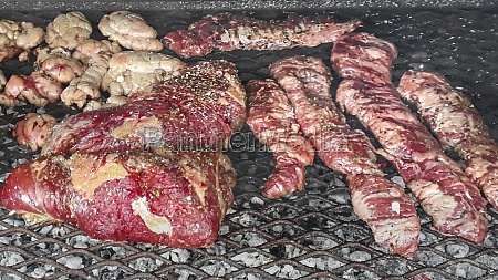 grilled traditional uruguayan meat
