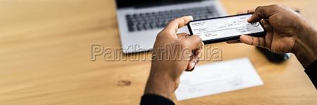remote check deposit using mobile remote