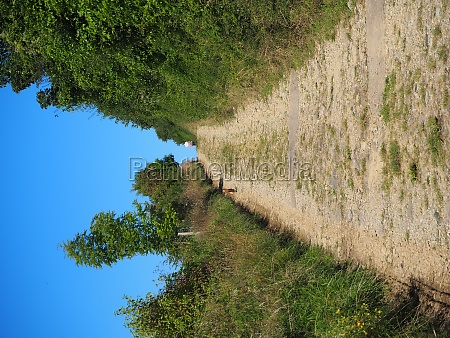 hiking trail in the country side