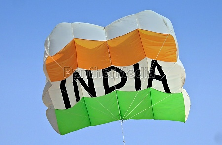 indian hindus fly the kite