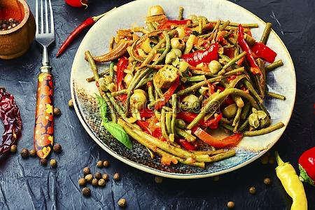 spicy vegetable salad