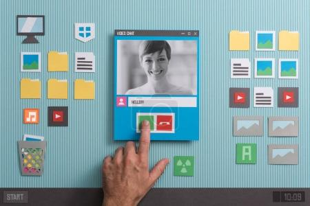 computer design paper simplicity smiling cut