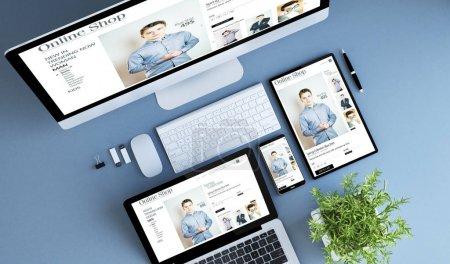 computer, consumerism, retail, business, person, shop - B176774730