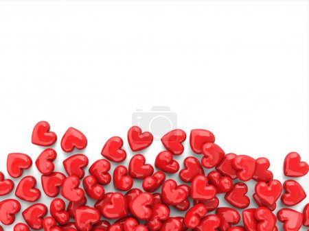color red white background object nobody