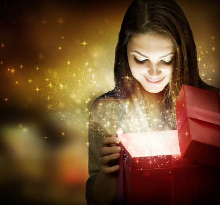 fun, red, white, background, gift, beautiful - B10605705