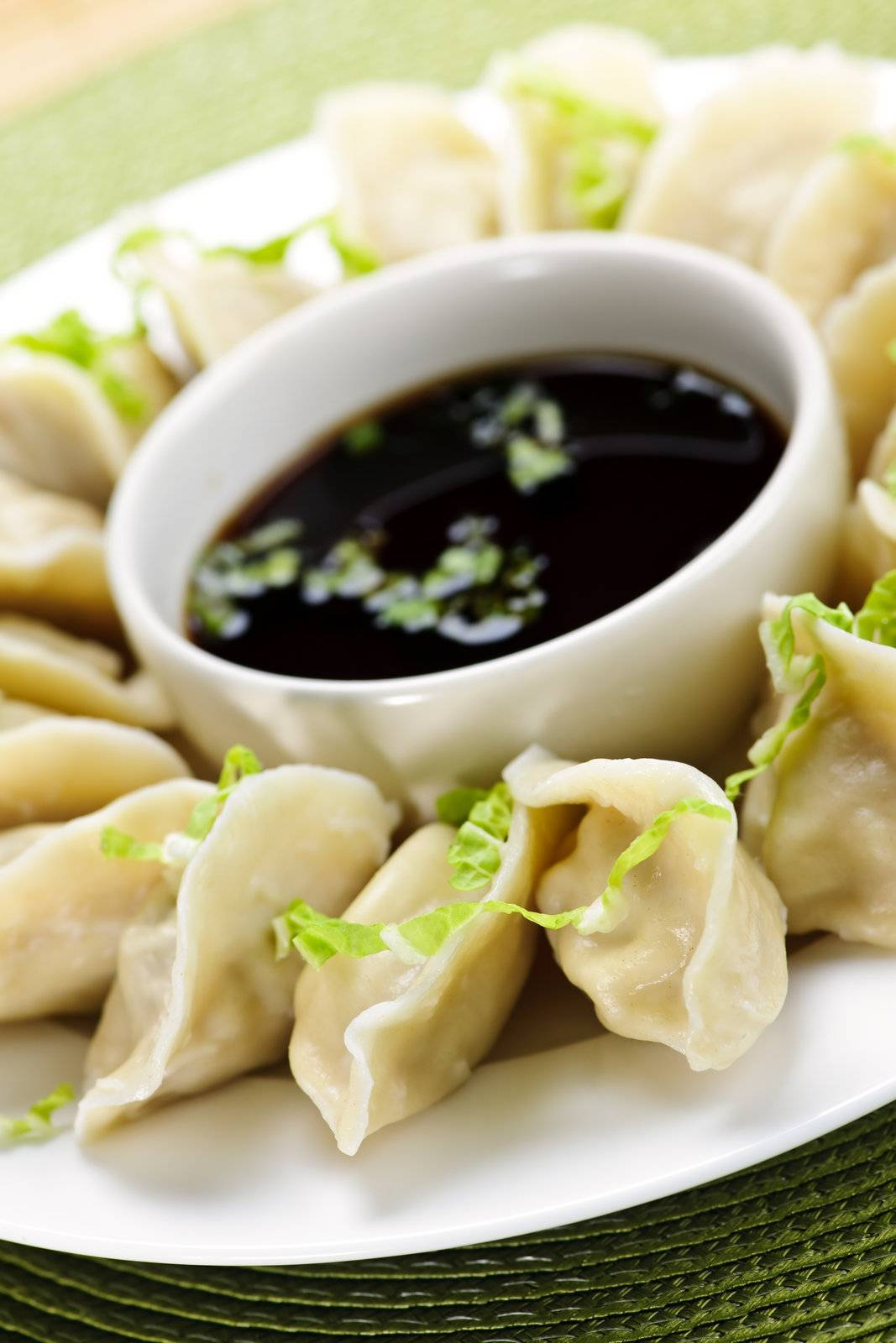 dumplings, traditional, ethnic, steamed, soy, sauce - D5980100