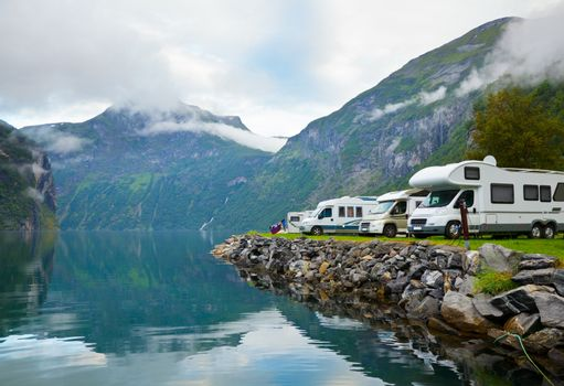 europe attraction automobile beauty camper campground