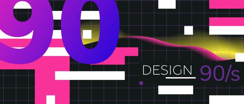90 illustration background element poster vector
