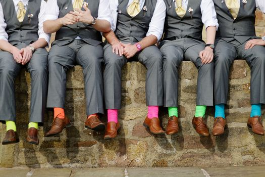 parts party young comical colors bridal