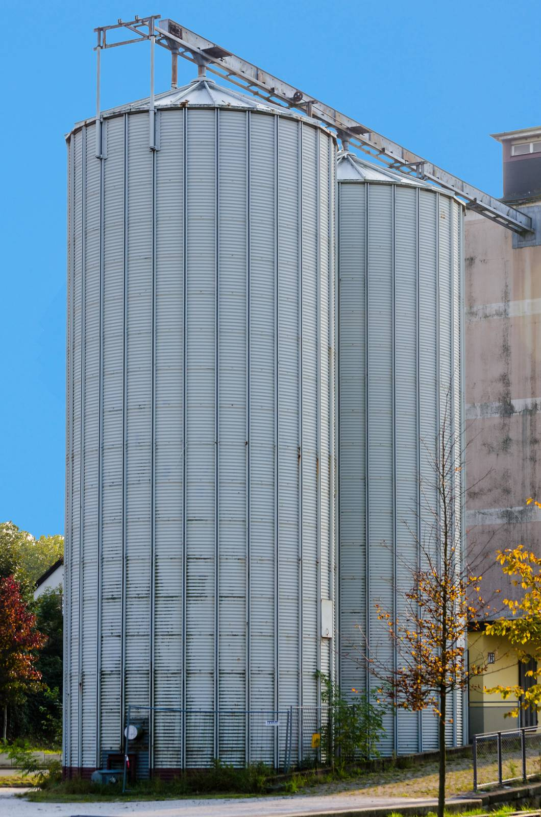 silo, agriculture, farm, agriculture, industry, field - D15306916