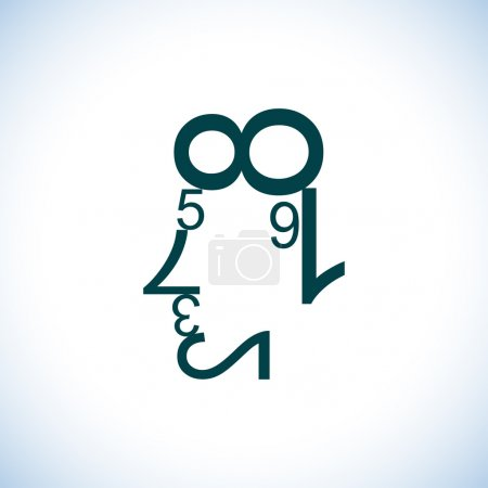 background, number, illustration, design, shape, business - B51701957