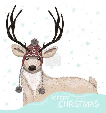fun vector background illustration design christmas