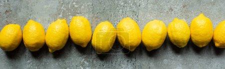 yellow background colorful nobody horizontal row