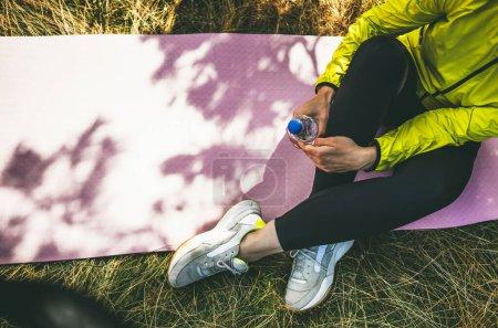 sport, leisure, green, activity, background, space - B383354702