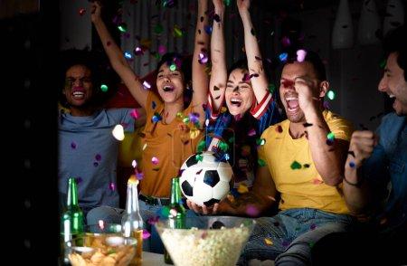 sport victory ball horizontal photography celebration