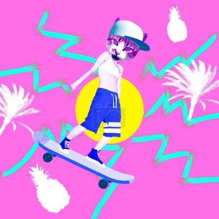 background, design, bright, art, summer, abstract - B259257952