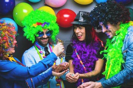 fun group background colorful beautiful birthday
