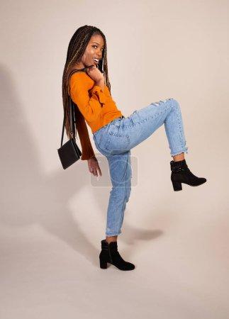 beautiful concepts shot studio female young