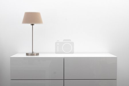 table white object design copy space