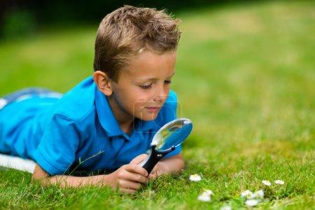 green, glass, young, summer, grass, outdoors - B51865887