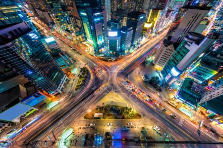 lights, view, travel, vertical, traffic, motion - B71801223