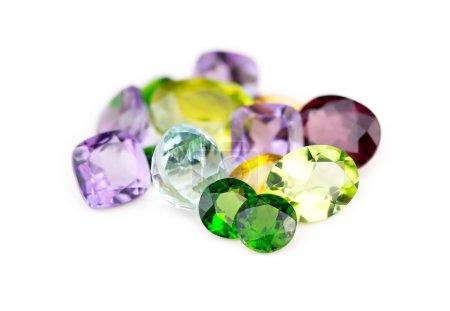 green, red, group, white, macro, diamond - B59929113