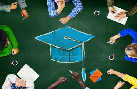 business ideas hands concept office school