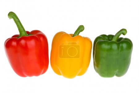 green, red, yellow, white, background, on - B3437018